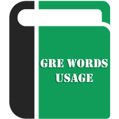 GRE Words Usage icon
