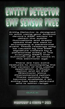 Entity Detector FREE screenshot 1
