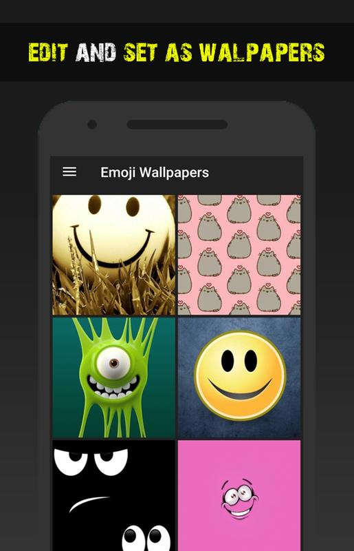 emoji wallpapers hd backgrounds free app for android apk download