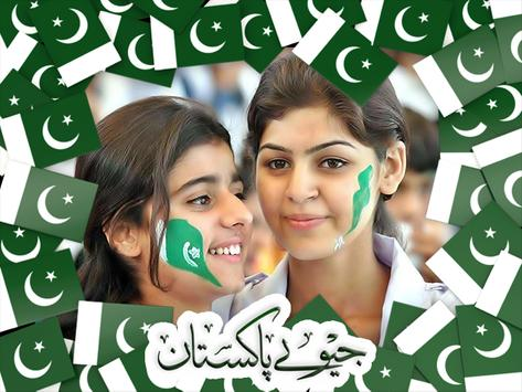 Pakistan Flag Photo Frames 2017 poster