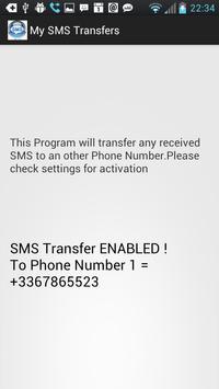 SMS Transfer poster