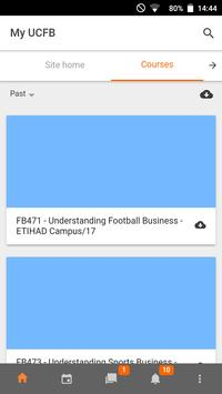 UCFB Online Hub screenshot 4