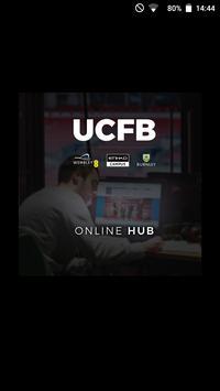 UCFB Online Hub poster