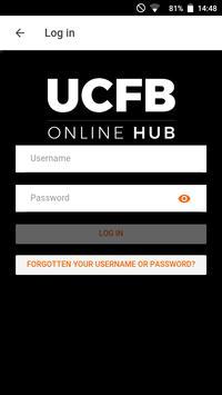 UCFB Online Hub screenshot 1
