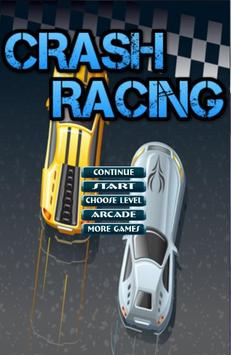 Crash Racing Bubble poster