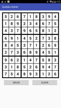 Sudoku Solver apk screenshot