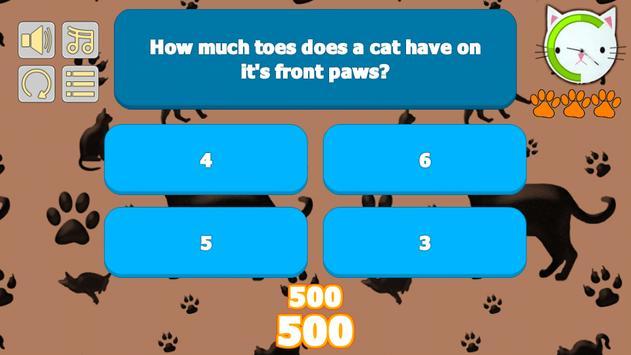 Cat Trivia poster