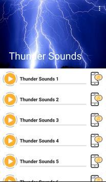Thunder Sounds poster