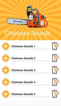 Chainsaw Sounds poster