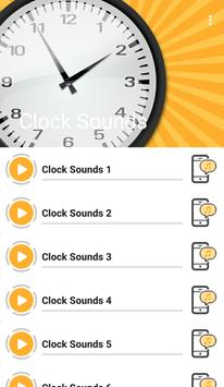 Clock Sounds screenshot 1