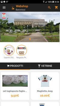 Webshop Baronissi poster