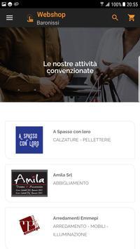 Webshop Baronissi screenshot 1