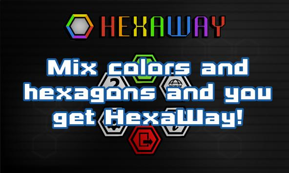 HexaWay Free - Puzzle Game poster