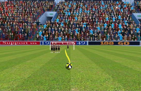 Curvy Free Kicks Live apk screenshot