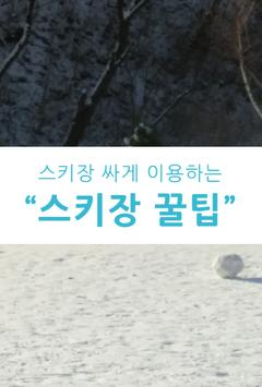 스키장 꿀팁 poster