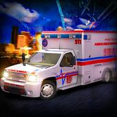 911 Emergency Ambulance Rescue - 2017 Simulator 3D icon