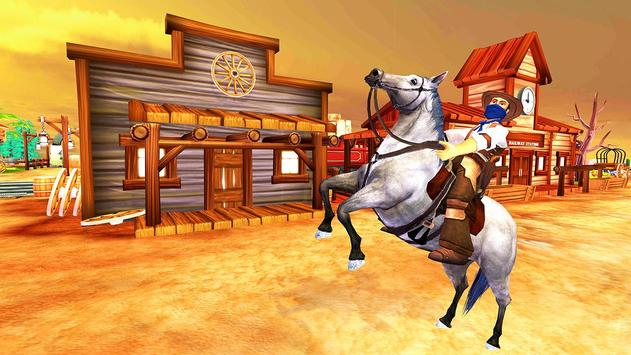 Horse Riding Adventure Derby Quest 2017 3D screenshot 1