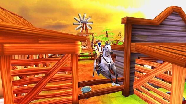 Horse Riding Adventure Derby Quest 2017 3D screenshot 3