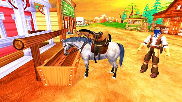 Horse Riding Adventure Derby Quest 2017 3D screenshot 5
