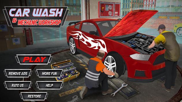 Monster Car Mechanic Workshop poster