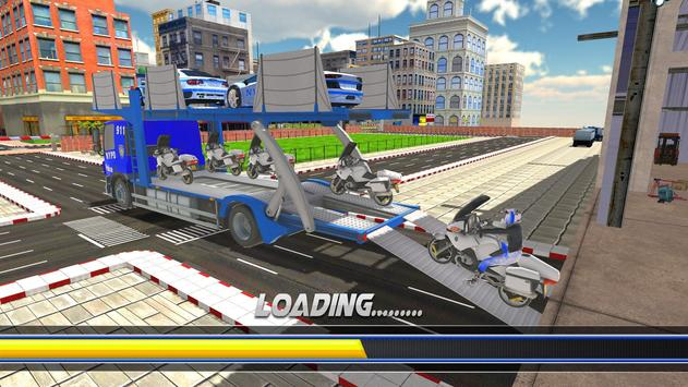 Police Robot Bike Truck Sim screenshot 5