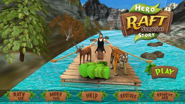Raft Hero Survival Mission poster