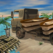 Real Raft Transport Truck icon