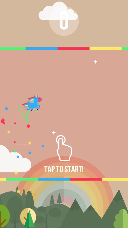 unicorn dash android game apk download