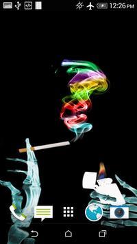 Colours Smoke Wallpaper poster
