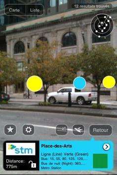 Montreal Metro AR apk screenshot