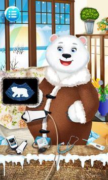 Polar Bear - Frozen Baby Care poster