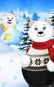 Polar Bear - Frozen Baby Care apk screenshot