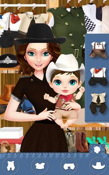 Sheriff Family - Baby Care Fun apk screenshot