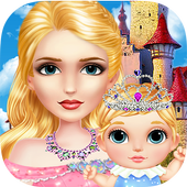 Sleeping Beauty Fairytale Baby icon