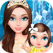 Ice Princess: Frozen Baby Care icon