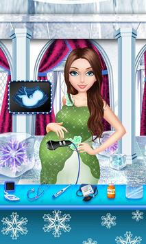 Ice Princess: Frozen Baby Care poster