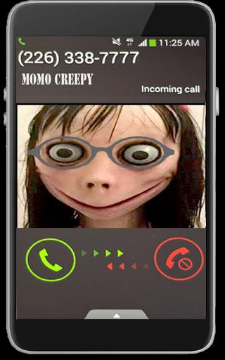 Momo Creepy Fake Call Free Nomber For Android Apk Download