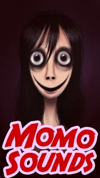 Momo scary sounds poster