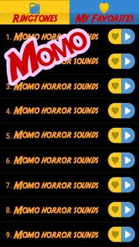 Momo scary sounds screenshot 1