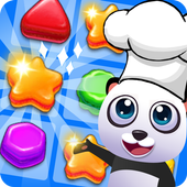 Panda Kitchen - Cookie Match 3 icon