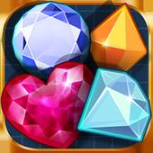 Pirate Treasure - Gem Match 3 icon