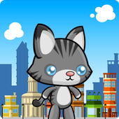 subway cat gold run icon