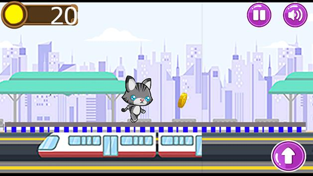 subway cat gold run screenshot 5