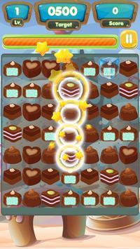 Sweet Chocolate New Match 3 Link Candy apk screenshot