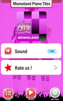 Momoland Piano Tiles screenshot 4