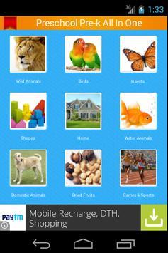 Preschool Pre-K All In One poster
