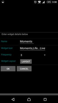 Photo collage widget apk screenshot