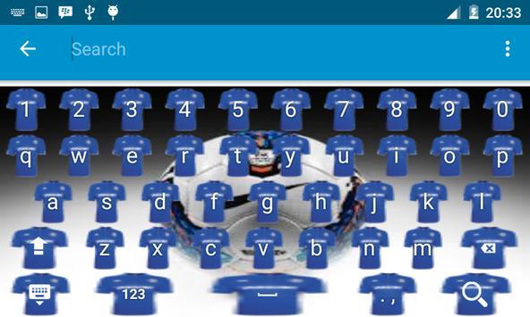 Chelsea Keyboard Theme apk screenshot
