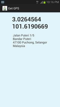 Get GPS poster