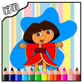 Coloring Book For Dora APK